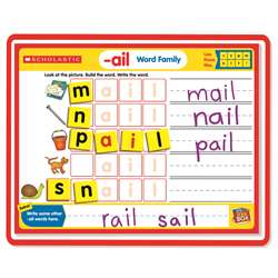 Little Red Tool Box Magnetic Mats Word Families