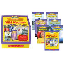 Science Vocabulary Readers Wild Weather By Scholastic Books Trade