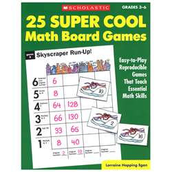 25 Super Cool Math Board Games By Scholastic Books Trade