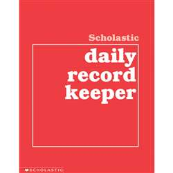 Scholastic Daily Record Keeper Gr K-8 By Scholastic Books Trade