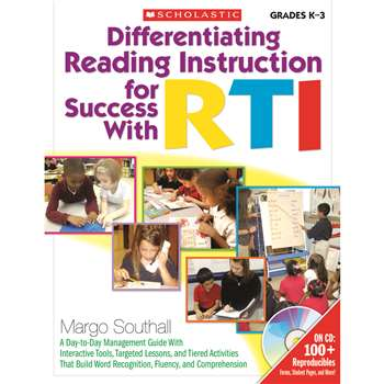 Differentiating Reading Instruction For Success With Rti By Scholastic Books Trade