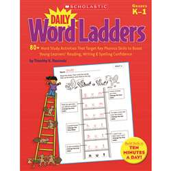 Daily Word Ladders Gr K-1 By Scholastic Books Trade