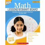 Math Lessons Gr 4-6 For The Smart Board By Scholastic Books Trade