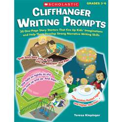 Cliffhanger Writing Prompts, SC-531511