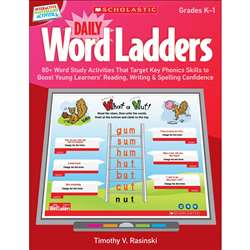 Daily Word Ladders Gr K-1 Interactive Whiteboard Activities By Scholastic Books Trade