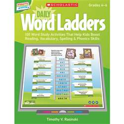 Daily Word Ladders Gr 4-6 Interactive Whiteboard Activities By Scholastic Books Trade