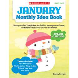January Monthly Idea Book, SC-537937