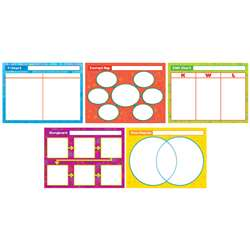 Great Graphic Organizers Bulletin Board Set By Scholastic Books Trade