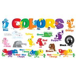 Color Chameleons Mini Bulletin Board Set By Scholastic Books Trade
