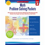 Math Problem Solving Packets Gr 3 By Scholastic Books Trade