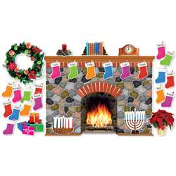Holiday Hearth Bulletin Board Set By Scholastic Teaching Resources