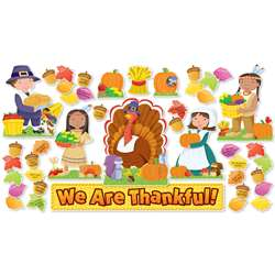 We Are Thankful Bulletin Board Set By Scholastic Teaching Resources