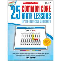 25 Common Core Gr 2 Math Lessons For The Interacti, SC-548617