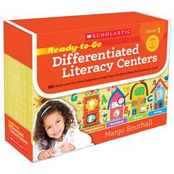 Gr 1 Ready To Go Differentiated Literacy Centers, SC-554997