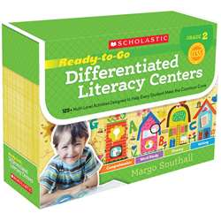 Gr 2 Ready To Go Differentiated Literacy Centers, SC-554998