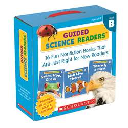 Level B Guided Science Readers Parent Pack, SC-565093
