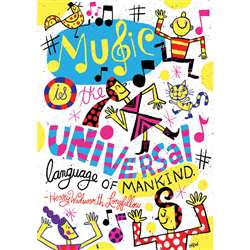 Shop Music Is The Universal Pop Chart - Sc-565376 By Scholastic Teaching Resources