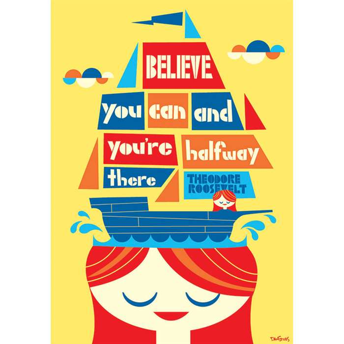 Shop Believe You Can Pop Chart - Sc-565378 By Scholastic Teaching Resources