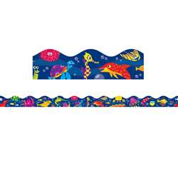 Shop Ocean Life Scalloped Trimmer - Sc-565391 By Scholastic Teaching Resources