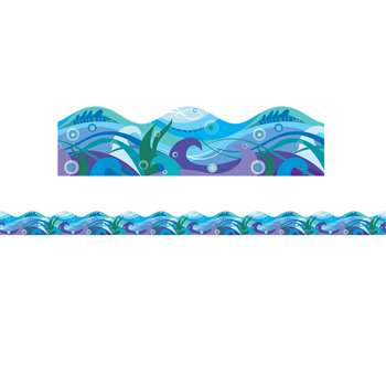 Shop Waves Scalloped Trimmer - Sc-565392 By Scholastic Teaching Resources