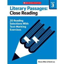 Literary Passages Close Reading Gr3, SC-579386