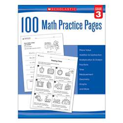 102 Math Practice Pages Gr 3, SC-579939
