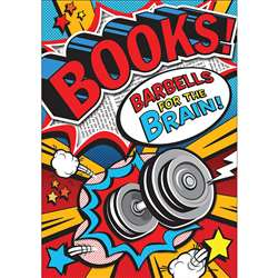 Books Barbells Pop Chart, SC-581931