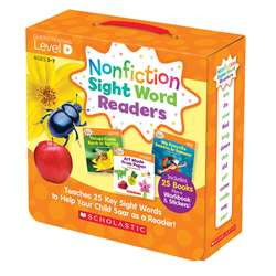 Nonfiction Sight Word Readers Lvl D Parent Pack, SC-584284