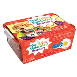 Nonfiction Sight Word Readers Lvl A Classroom Tub, SC-584285