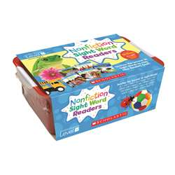 Nonfiction Sight Word Readers Lvl B Classroom Tub, SC-584286