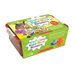 Nonfiction Sight Word Readers Lvl C Classroom Tub, SC-584287