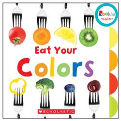 Board Book Eat Your Colors Rookie Toddler, SC-652963
