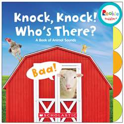Board Book Knock Knock Whos There Rookie Toddler, SC-662874