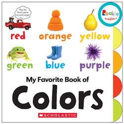 Board Book My Fav Book Of Colors Rookie Toddler, SC-662876