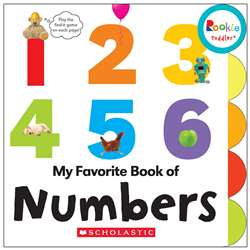 Board Book My Fav Book Of Numbers Rookie Toddler, SC-662877