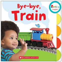 Board Book Bye Bye Train Rookie Toddler, SC-675650