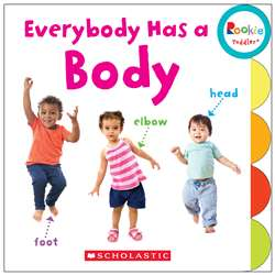 Board Book Everybody Has A Body Rookie Toddler, SC-675651