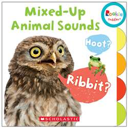 Board Book Mixed Up Animal Sounds Rookie Toddler, SC-675653