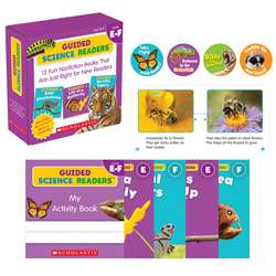 Guided Science Readers Levels E-F Parent Pack, SC-809118