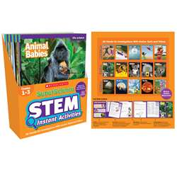 Superscience Gr 1-3 Stem Instant Activities, SC-809900