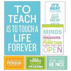 Inspirational Quotes Poster Bulletin Board St, SC-810510
