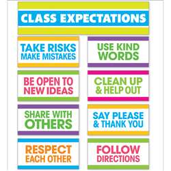 Class Expectations Mini Bulletin Board St, SC-810511