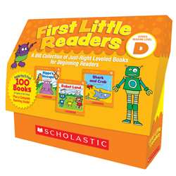 First Little Readers Box St Level D, SC-811146