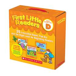 First Little Readers Level D Parent Pack, SC-811150