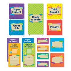 Tape It Up Behavior Chart Mini Bulletin Board Set, SC-812784