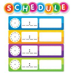 Color Your Clssrm Schedule Mini Bulletin Board Set, SC-812788