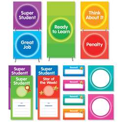 Color Your Classroom Behavior Clip Chart Mini Bull, SC-812789
