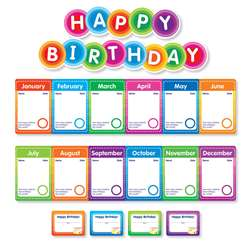 Color Your Classroom Birthdays Mini Bulletin Board, SC-812790