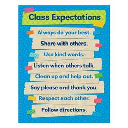 Tape It Up Class Expectations Chart, SC-812797