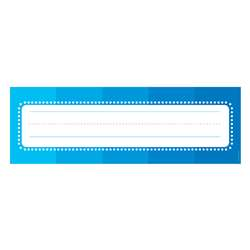 Color Your Classroom Name Plates, SC-812806